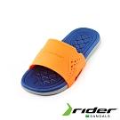 Rider 經典休閒造型拖鞋 兒童款 橘