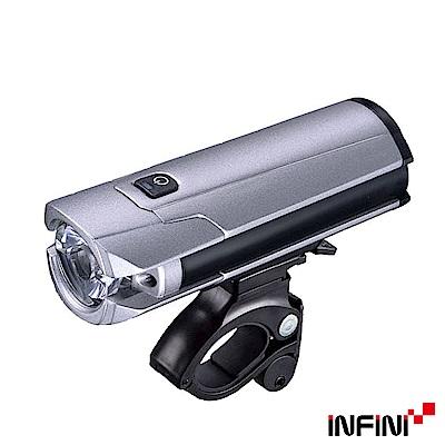 INFINI TRON I-340P 高效能USB充電式前燈 鐵灰色