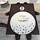 HUEI生活提案 水晶絨 可拆洗動物造型兒童床墊 布朗熊 product thumbnail 1