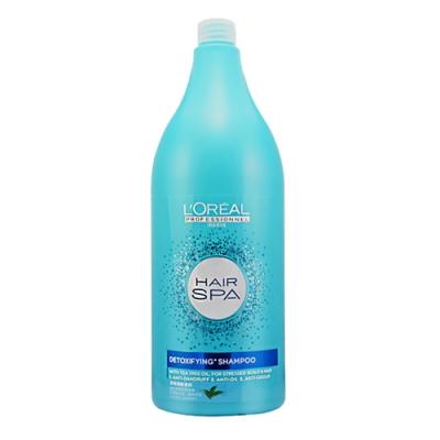 LOREAL萊雅 Hair SPA茶樹清新洗髮精 1500ml