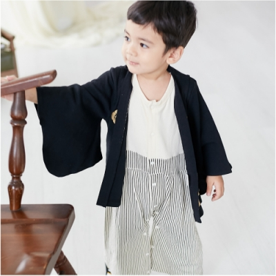 baby童衣 日式和服長袖連身衣 70065(共2色)