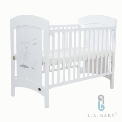 L.A. Baby       Austin奧斯汀嬰兒床/中床/童床(白色)