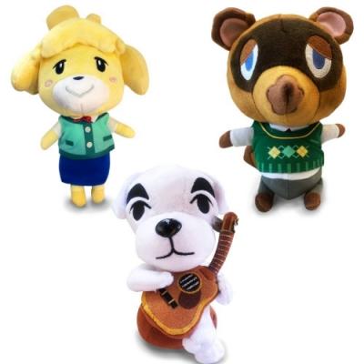 任天堂原廠授權角色娃娃- 動物森友會系列