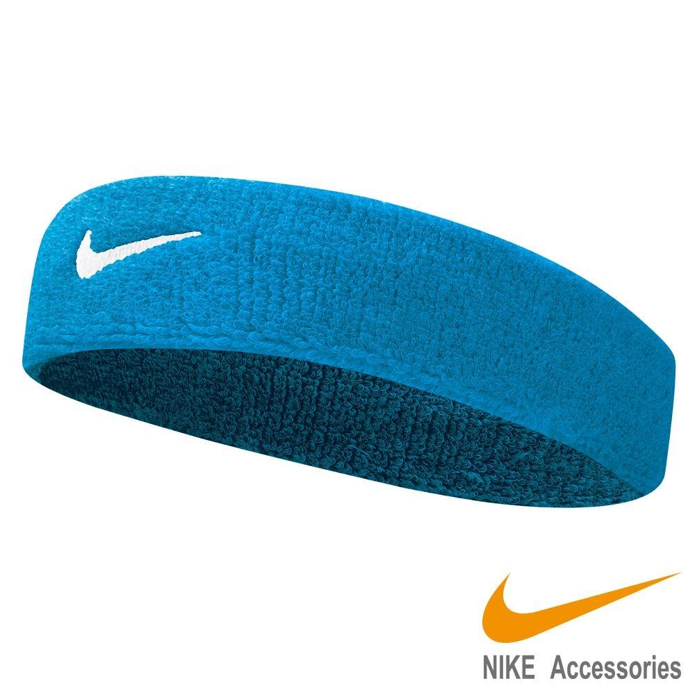 NIKE Swoosh 單色頭帶-淺藍