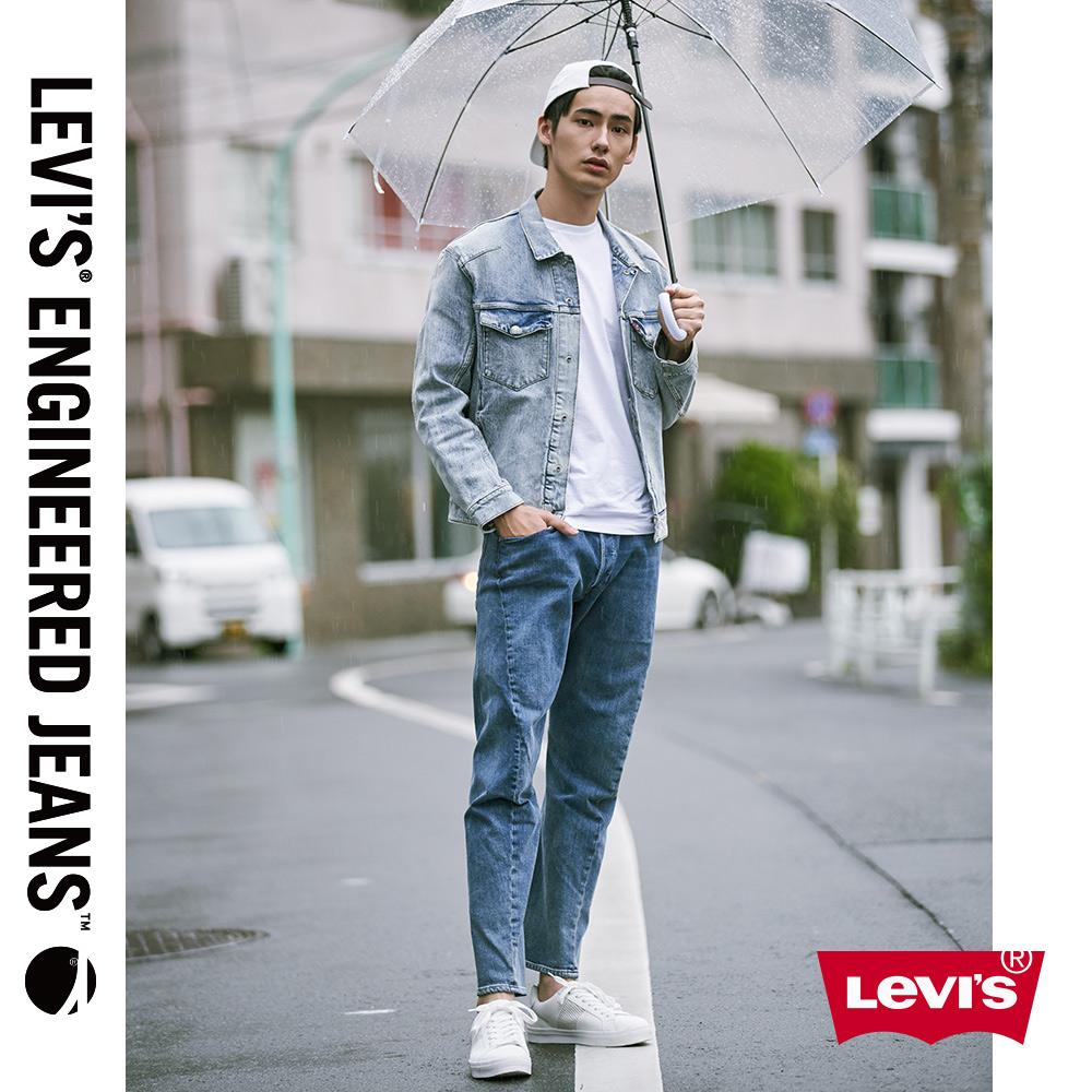 Levis 男款 上寬下窄 512低腰修身牛仔褲 LEJ 3D褲 淺藍水洗