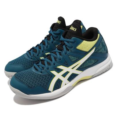 Asics 排球鞋 GEL-Task MT 2 男鞋 亞瑟士 緩衝 避震 包覆 穩定 亞瑟膠 藍 白 1071A036401