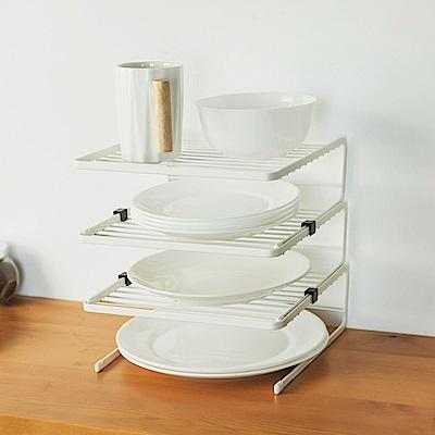 Home Feeling 三層碗盤架/瀝水架/收納架/廚房收納