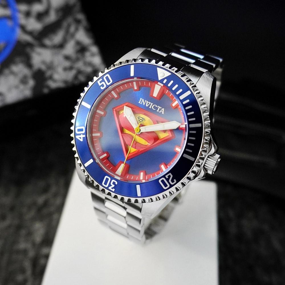 INVICTA 英威塔|DC正義聯盟限定版 (超人)-機械錶