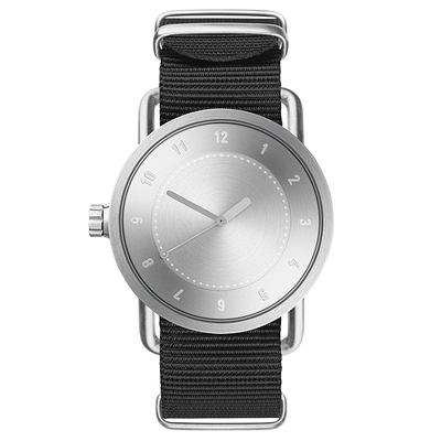 TID Watches No.1 Steel(TID-N1-40)銀X黑/40mm