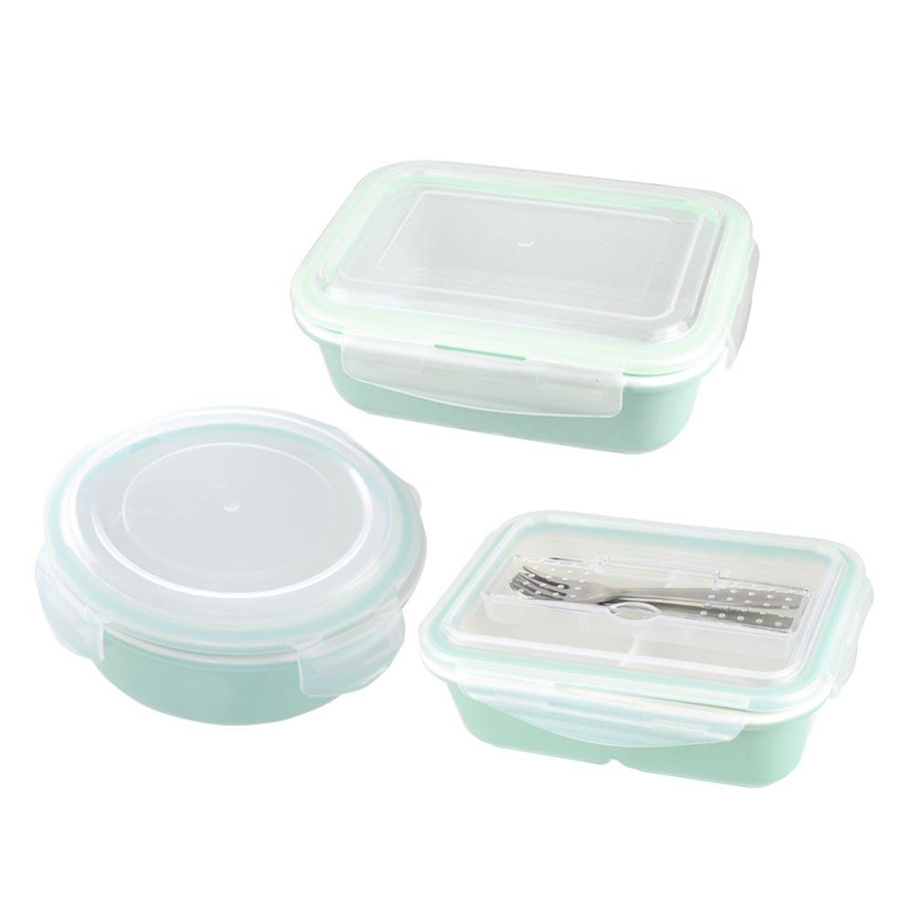 美國Winox 樂瓷系列陶瓷保鮮盒三件組