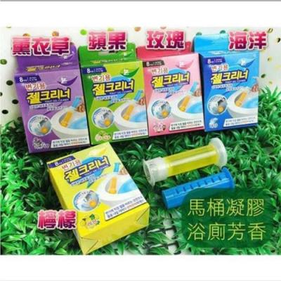 韓國熱銷 馬桶芳香除臭去汙凝膠 馬桶清潔凍 3盒