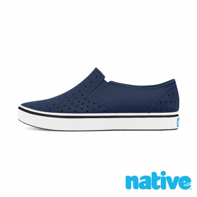 native 大童鞋 MILES 小邁斯鞋-海軍藍x貝殼白