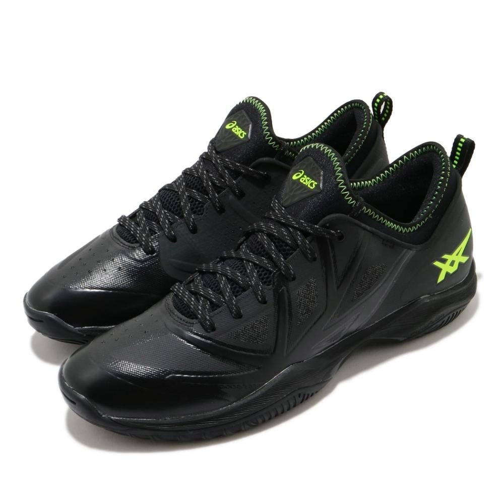 Asics 籃球鞋 Glide Nova FF 襪套式 男鞋 亞瑟士 進階款 輕量 穩定 避震 黑 黃 1061A003023