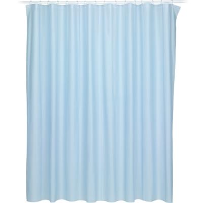 《KELA》Largo防水浴簾(藍180cm)