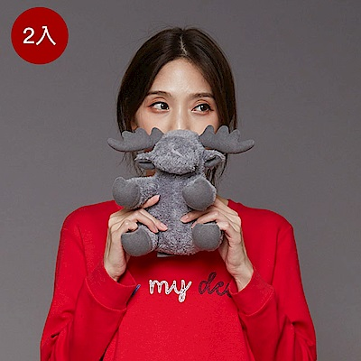 Yvonne Collection 馴鹿造型小玩偶2入