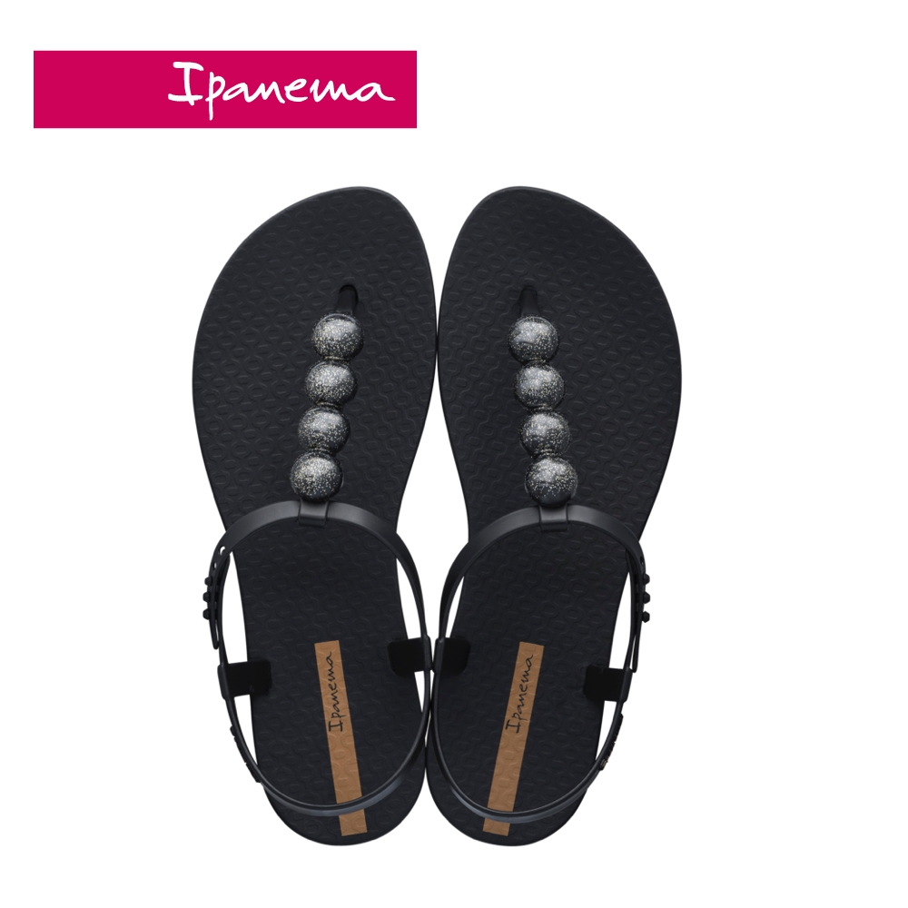 Ipanema  CLASS GLAM II T字涼鞋-時尚黑