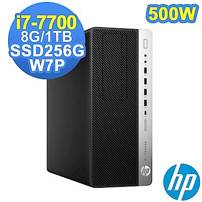 HP 800G3 MT i7-7700/8G/1TB+SSD256G/W7P