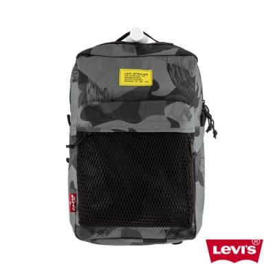 Levis 男女同款 L1機能後背包 雪地迷彩 都會電腦包