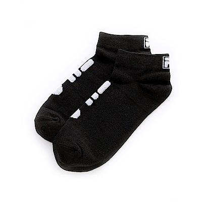 FILA 甲殼素薄底踝襪-黑 SCT-1200-BK