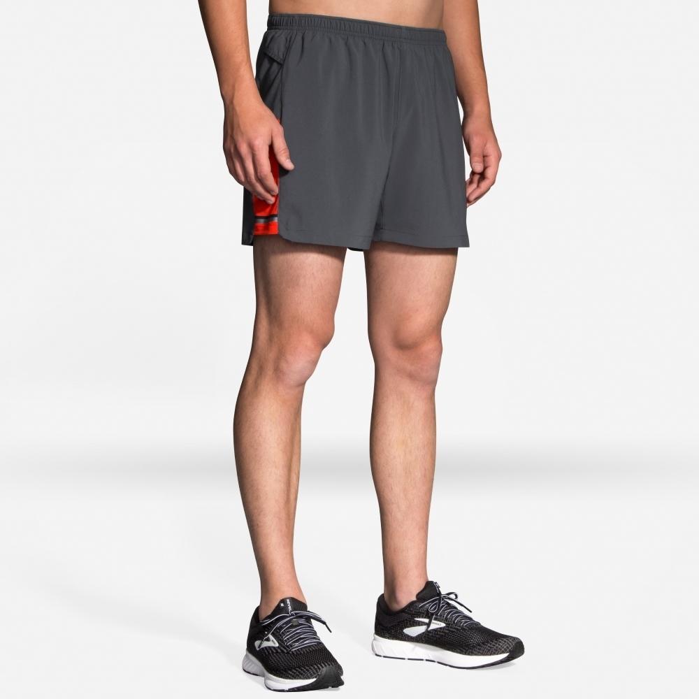 BROOKS 男 Sherpa 雪巴二件式5吋慢跑短褲(211137076)