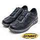 Grisport 義大利進口-拼接直套式厚底休閒鞋-黑色 product thumbnail 1