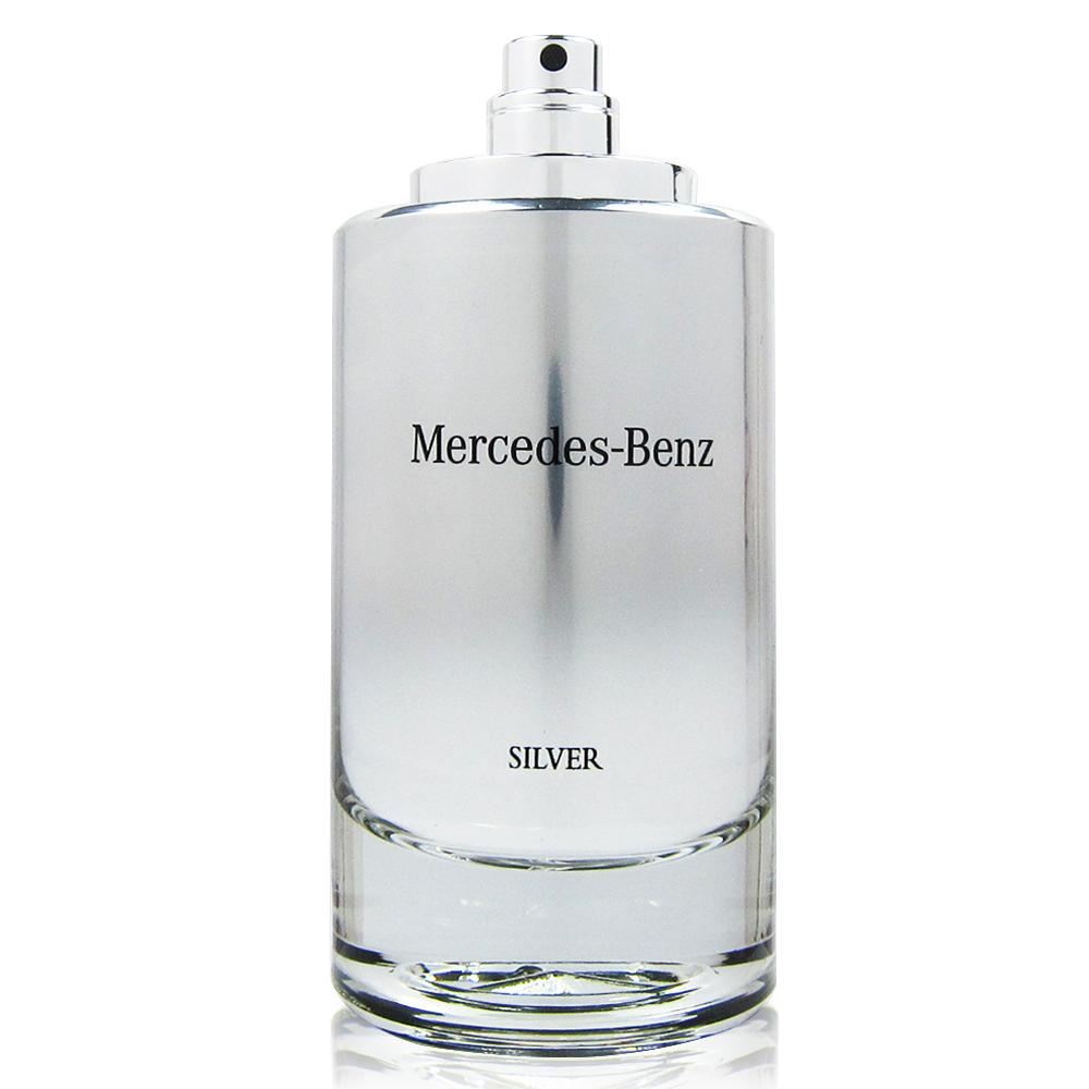 Mercedes Benz SILVER 2017銀輝幻羽男性淡香水120mlTESTER