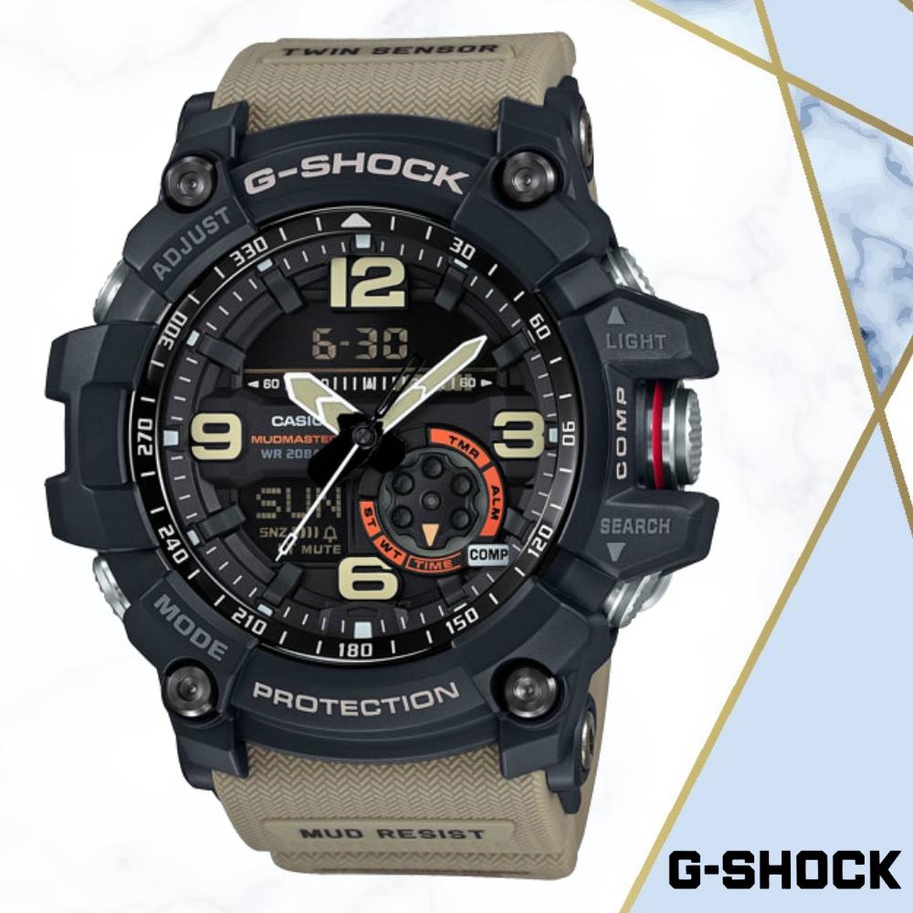CASIO卡西歐 極限大陸G-SHOCK概念錶(GG-1000-1A5)/55.3mm
