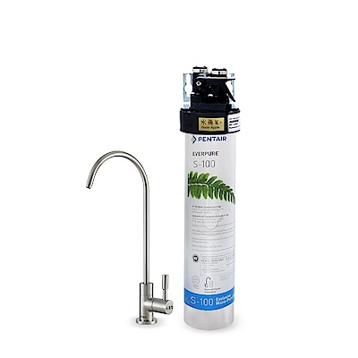 水蘋果公司貨 EVERPURE QL3-S100 單道淨水器