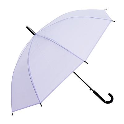 樂嫚妮 自動開傘/直立雨傘-彩色磨砂