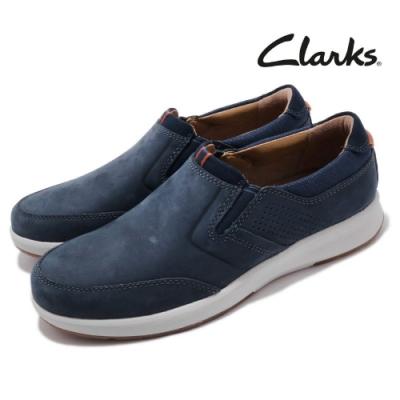 Clarks 休閒鞋 Un Trail Step 外出 男鞋