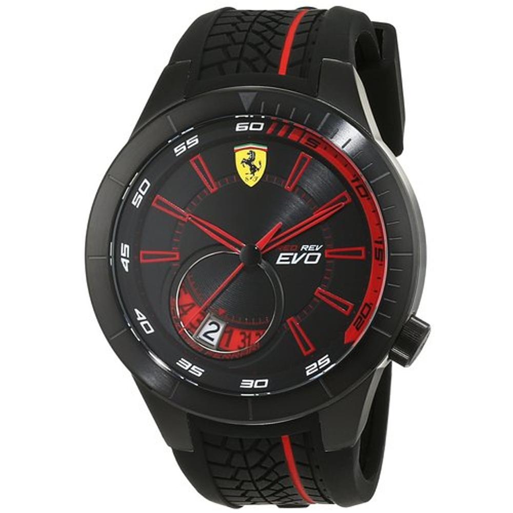 FERRARI 法拉利時尚流行速度運動錶/紅/FA0830339