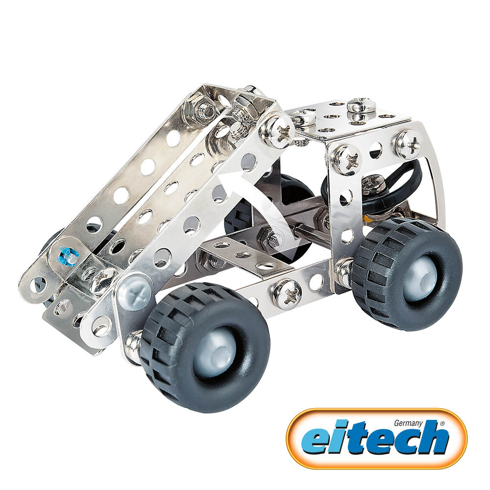 德國eitech益智鋼鐵玩具-迷你挖土機 C68