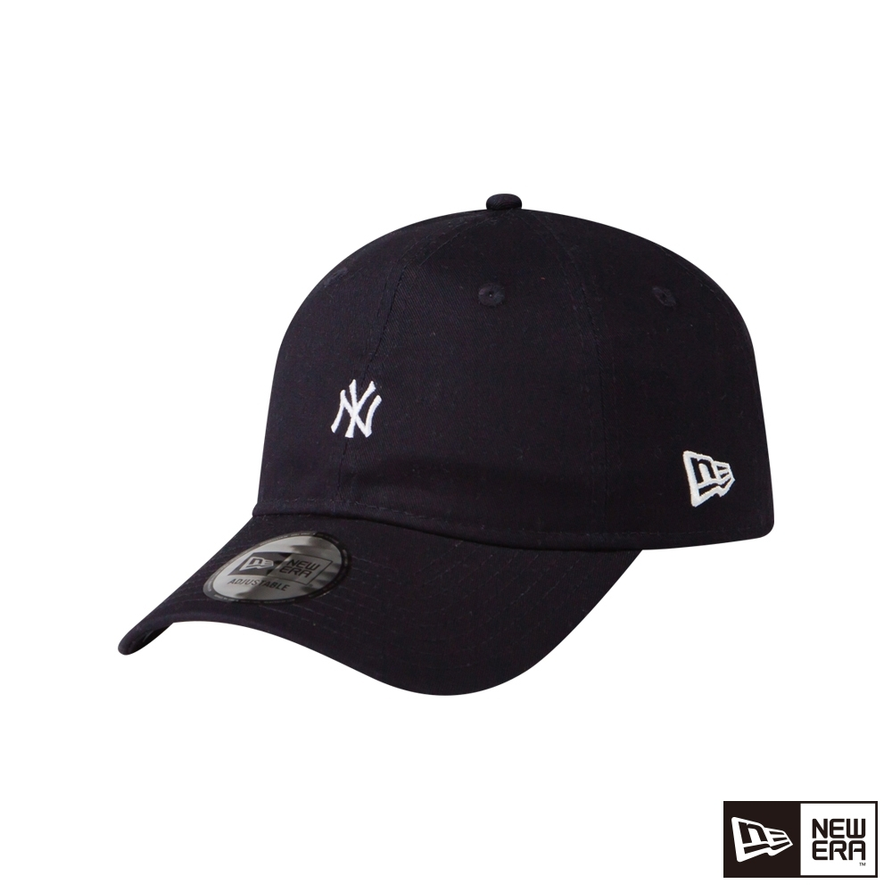 NEW ERA 9THIRTY 930 斜紋布 MINI LOGO 洋基 深藍 棒球帽