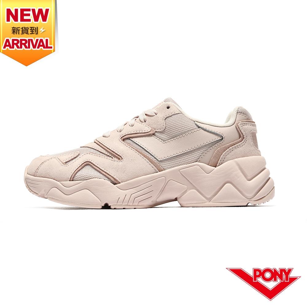 【PONY】MODERN 2 電光鞋 夢幻系慢跑鞋 女鞋-英倫玫瑰粉
