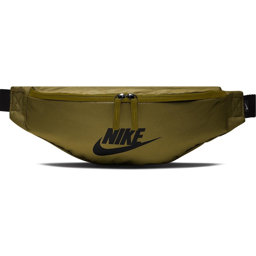 NIKE 腰包 斜背包 側背包 運動 慢跑 綠 BA5750368 NK HERITAGE HIP PACK