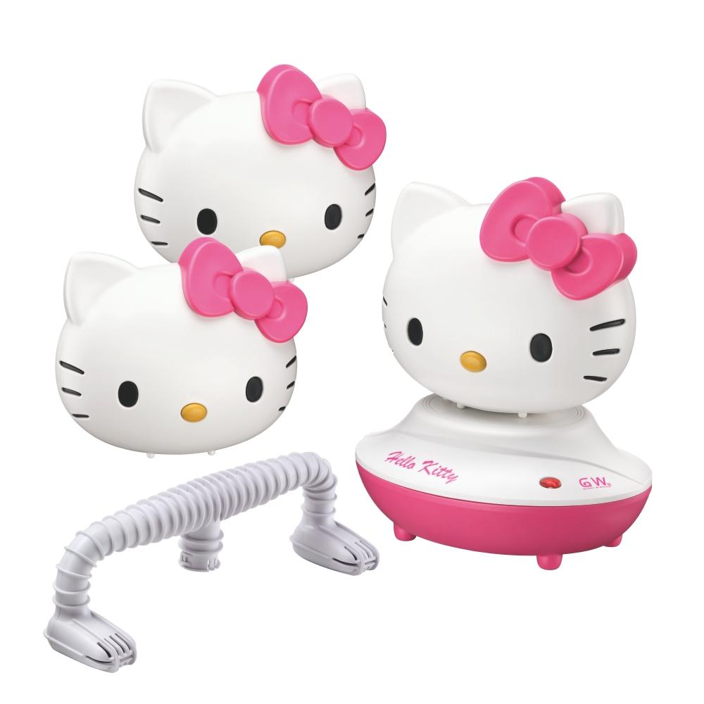 GW x Hello Kitty 水玻璃分離式除濕機烘鞋組(3機+1座)