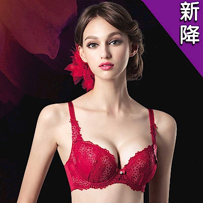 莎露 婚宴系列 B-D 罩杯內衣(喜宴紅)奢華蕾絲