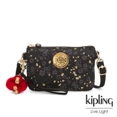 Kipling 花蕾滿枝綻放三層手拿兩用側背包-CREATIVITY XL X