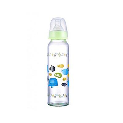nac nac 好朋友系列(海洋)-吸吮力學標準耐熱玻璃奶瓶 240ml