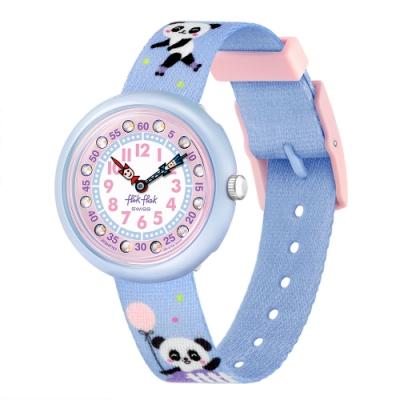 FlikFlak 兒童錶 PANDI PANDA 圓仔和胖迪 -31.85mm