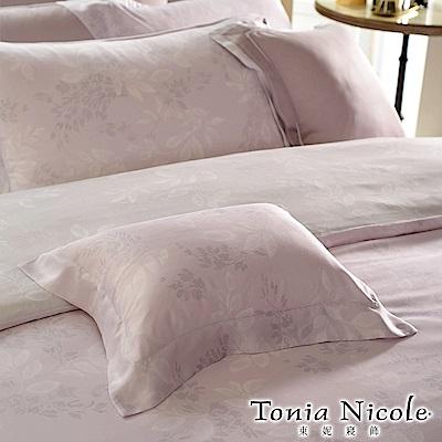 (活動)Tonia Nicole東妮寢飾 微恬之戀環保印染萊賽爾天絲被套床包組(特大)