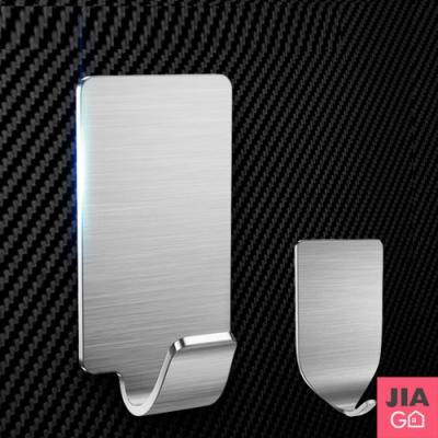 JIAGO 304不鏽鋼強力無痕掛鉤(8入/組)