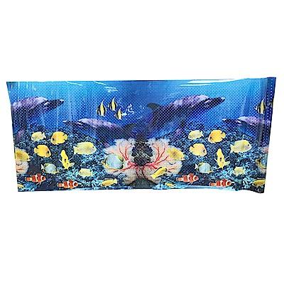 金德恩 台灣製造 居家裝潢海底世界2D造型壁貼150x58cm