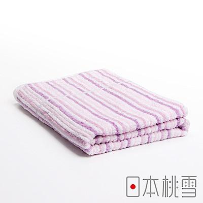 日本桃雪 今治浪花浴巾(紫色海洋)