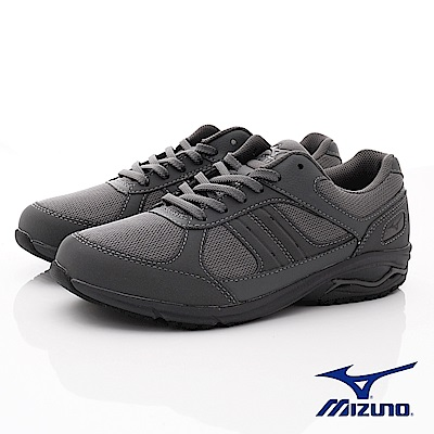 Mizuno美津濃-避震耐磨X10健走鞋-172503灰(男段)