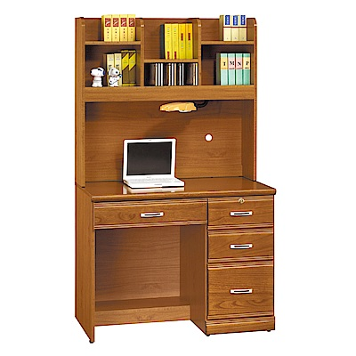AS-凱特實木3.2尺書桌-96x58.5x165cm