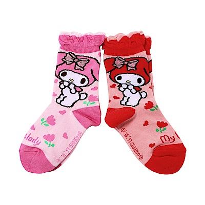 日本製美樂蒂短襪(2雙組)  k51209 魔法Baby