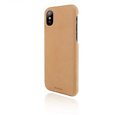 JTLEGEND iPhone X Nubuck 設計師款巴哥皮背蓋