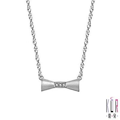 K OR蔻兒 少女時代鑽石/鉑金項鍊