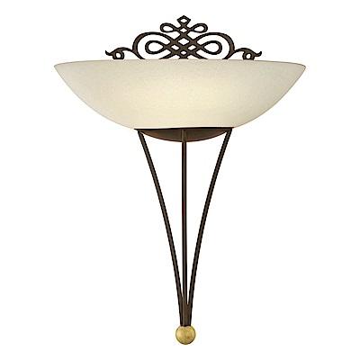 EGLO歐風燈飾 歐風雙色美型玻璃壁燈(不含燈泡)